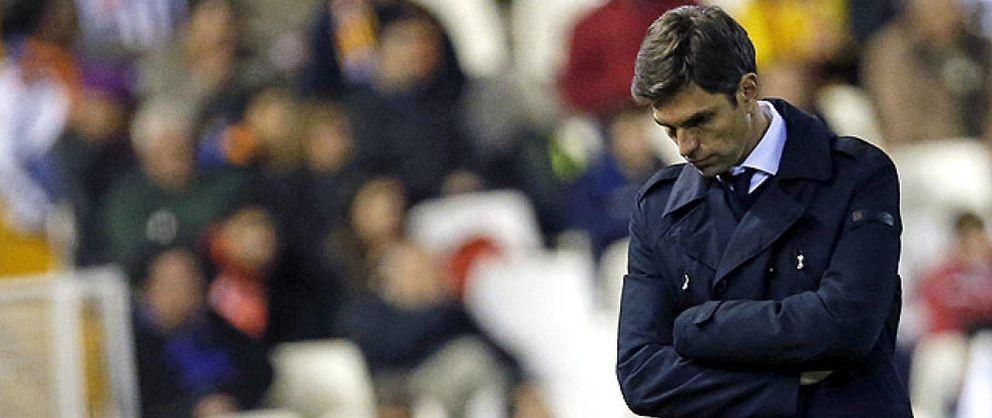 """Foto: Mauricio Pellegrino 'raja' en su despedida del Valencia: """"Me han despedido por un calentón"""""""