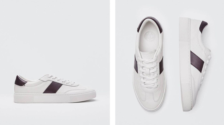 Zapatillas deportivas de Massimo Dutti. (Cortesía)