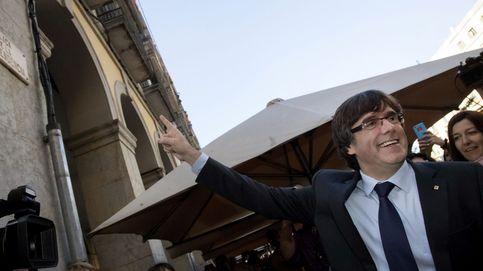 Puigdemont publica una foto del interior del Palau sin aclarar si está o no dentro