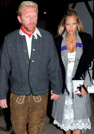 Foto: Boris Becker y Alexandra Meyer rompen su compromiso