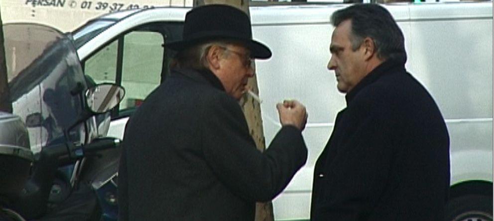Foto: Manuel Cerdán entrevista a Paesa en París en 2005.