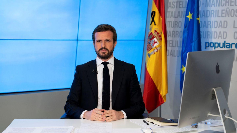 Otro despacho de Pablo Casado. (EFE)