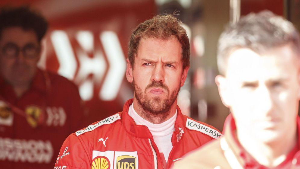 Foto: Ferrari se ha sentido inferior a Mercedes en esta primera semana de pretemporada. (EFE)