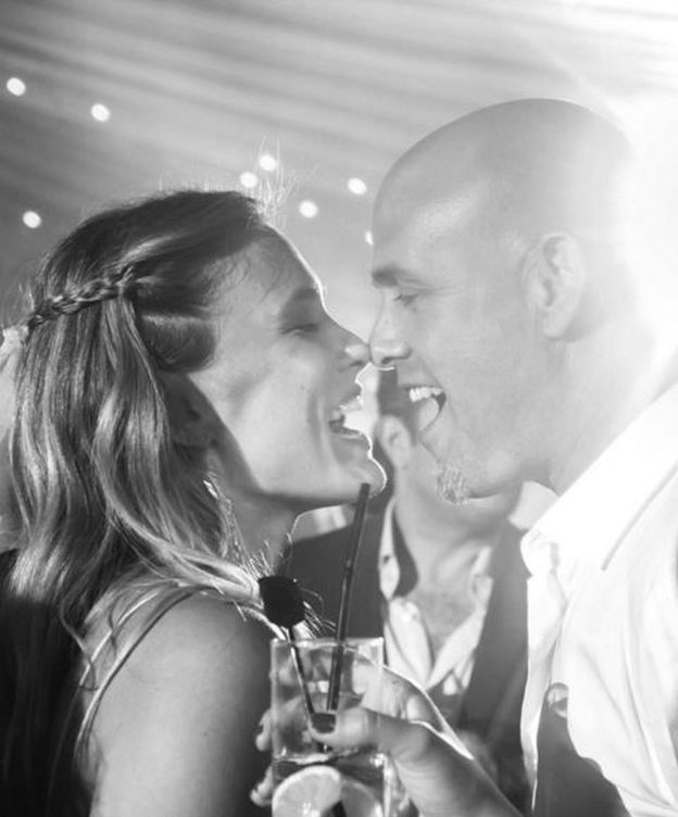 Foto: Bar Refaeli con su marido, Edi Ezra.