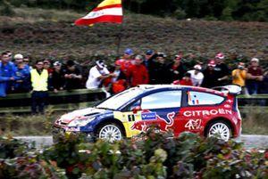 Loeb se corona en España por cuarta vez y Sordo termina segundo