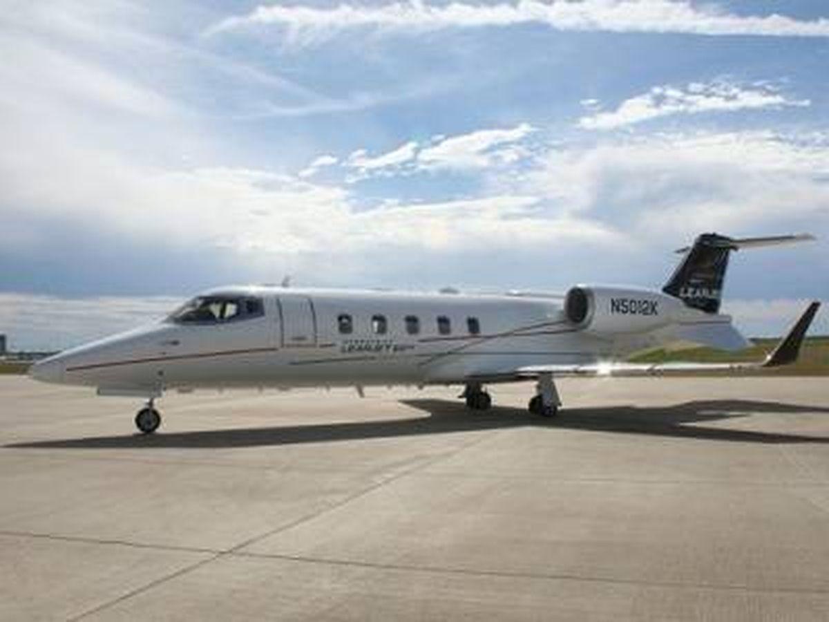 Foto: El modelo de jet privado en el que viaja Shakira.