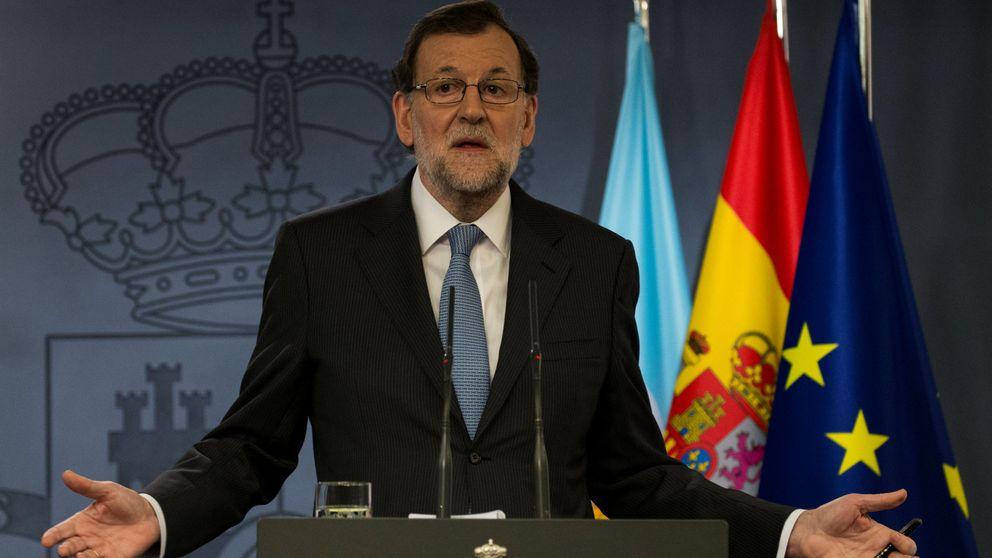 Rajoy pide a Puigdemont un esfuerzo para dejar de dividir a la sociedad catalana