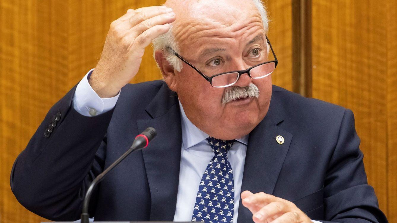 Foto: El consejero andaluz de Salud y Familias, Jesús Aguirre. (EFE)
