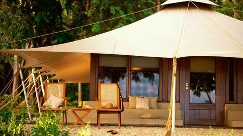 El camping Amanwana de Isabel Preysler y Mario Vargas Llosa, en imágenes