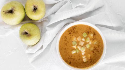 Vídeo-receta: una gran crema de boniato y manzana al curry