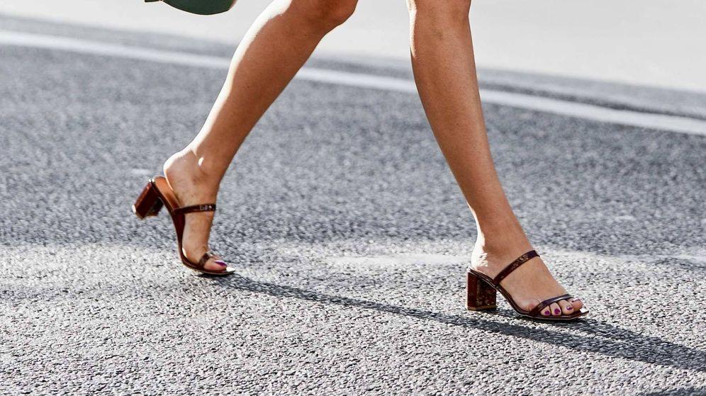 Foto: Pisa con garbo, y sin perder el equilibrio, en tu camino al trabajo. (Modelo en la Semana de la Moda de París -Imaxtree)