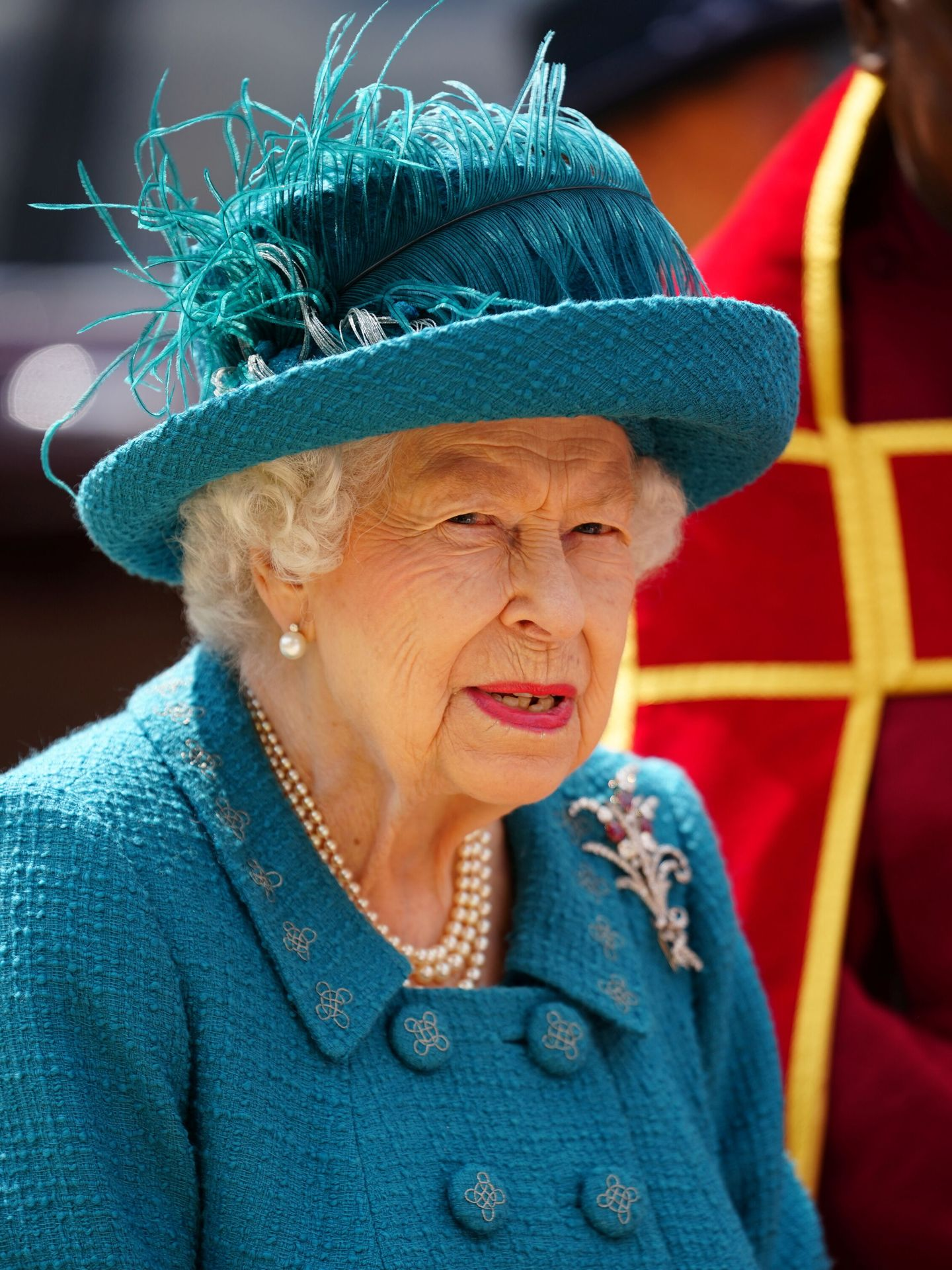 La reina Isabel, en una imagen reciente. (Reuters)