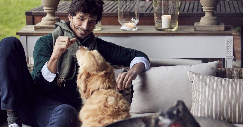 Foto: El modelo Andrés Velencoso en una imagen promocional (Foto: The Brubaker)