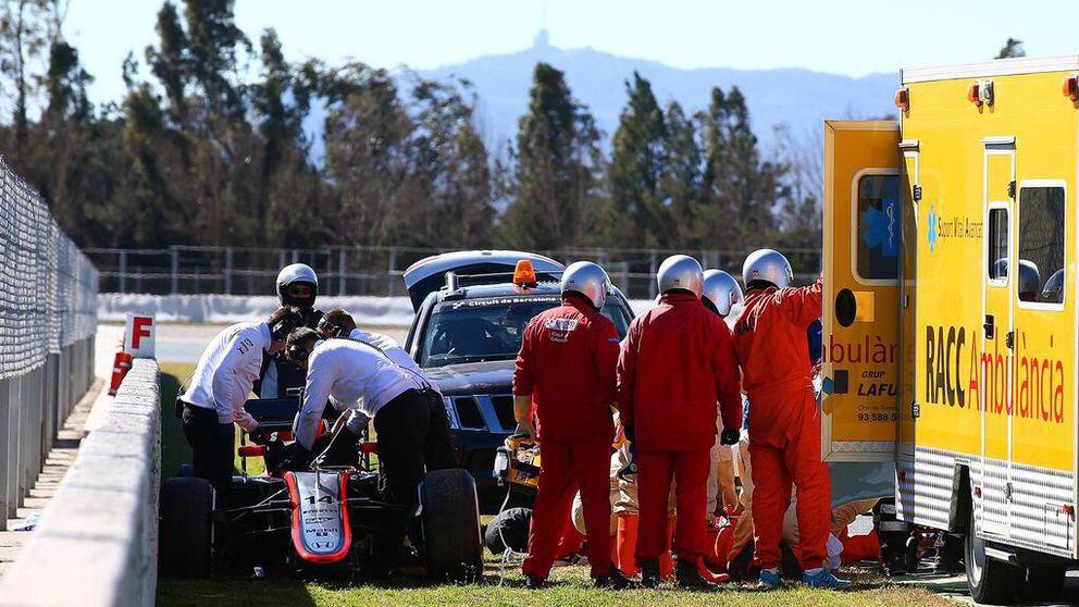 McLaren: Ni desmayos, ni averías, ni descargas. Fue el viento