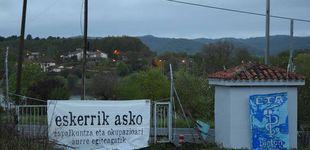 Post de ETA vuelve a 'tomar' las calles del País Vasco con decenas de pintadas