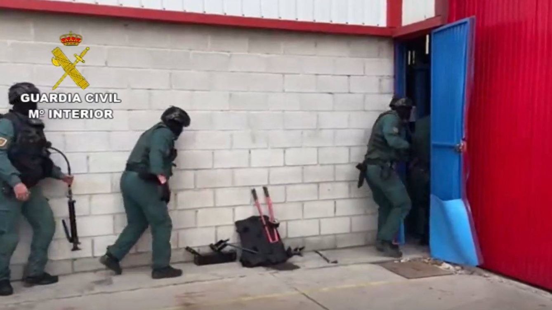 La Guardia Civil desmantela un narco-embarcadero en Gibraltar