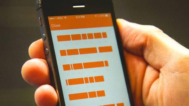 Foto: La 'app' de mensajería segura Confide