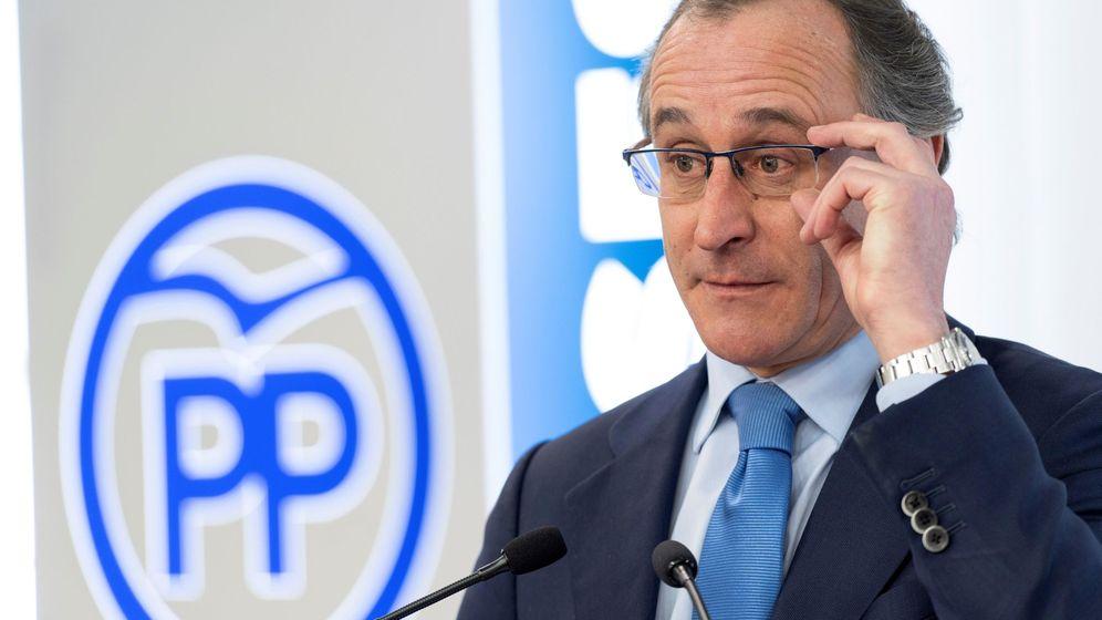 Foto: El Presidente del Partido Popular en el País Vasco, Alfonso Alonso, en una foto de archivo (EFE)