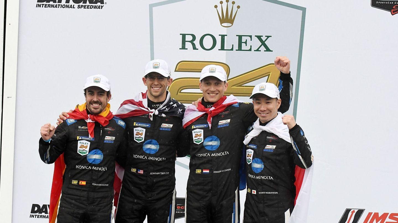 En solo unos meses, Alonso ha ganado en Le Mans y Daytona. (EFE)