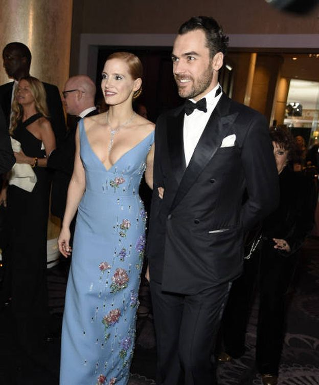 Foto: Jessica Chastain y Gian Luca Passi. (Gtres)