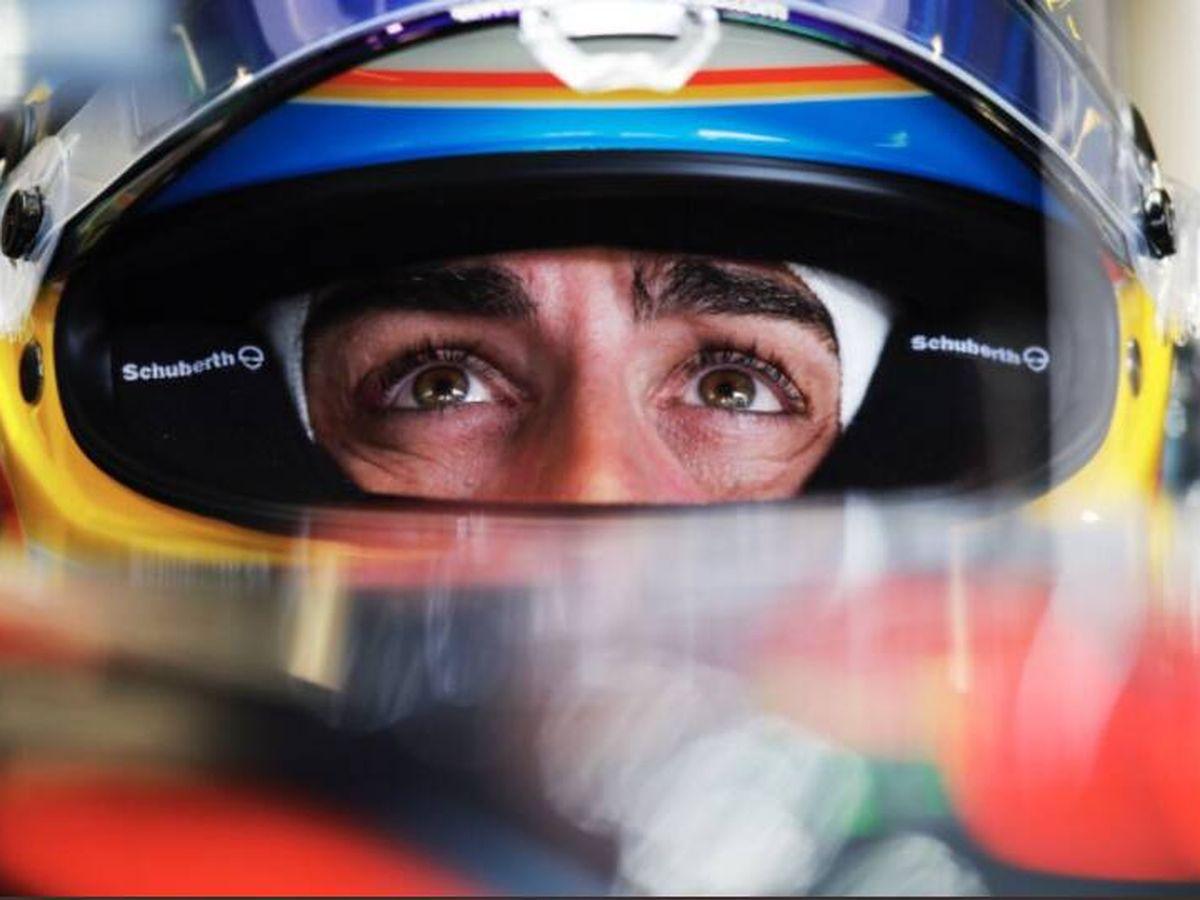 Foto: Alonso llevó a cabo una magistral defensa frente a Hamilton.