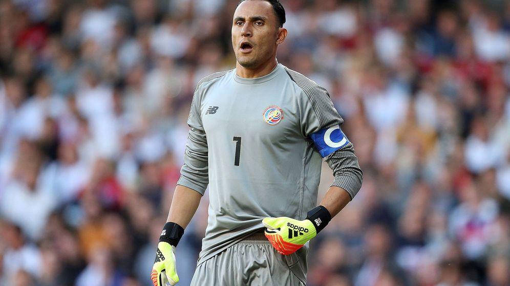 Foto: Keylor Navas durante un partido con la selección de Costa Rica. (Reuters)