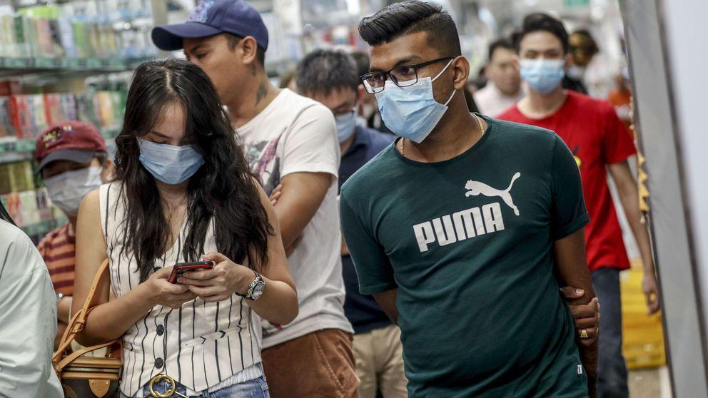 El coronavirus de China dispara la compra de mascarillas... pero no van a protegerte