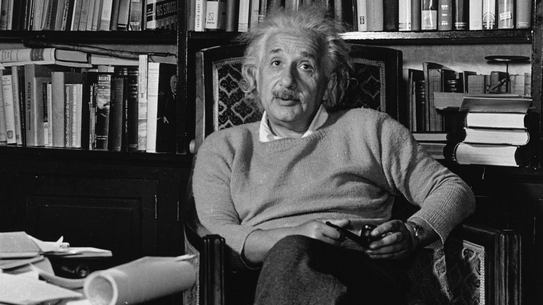Albert Einstein. (Corbis)