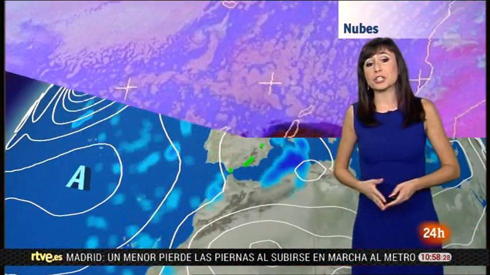 Foto: Silvia Laplana, en 'El tiempo' de RTVE