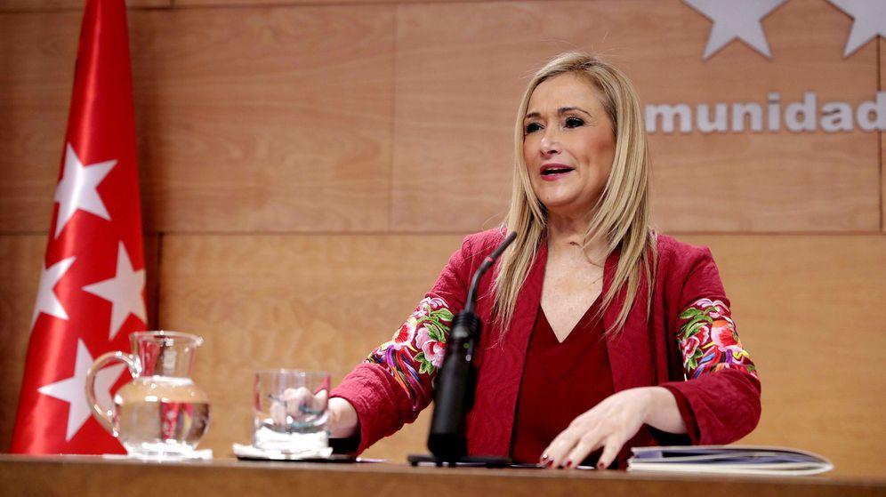 Foto: Cristina Cifuentes preside la reunión del Consejo de Gobierno. (EFE)