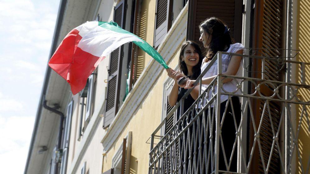 Foto: Balcones en Milán. (EFE)