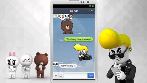 Todos contra WhatsApp: Line sale a bolsa a lo grande para cazar a su rival