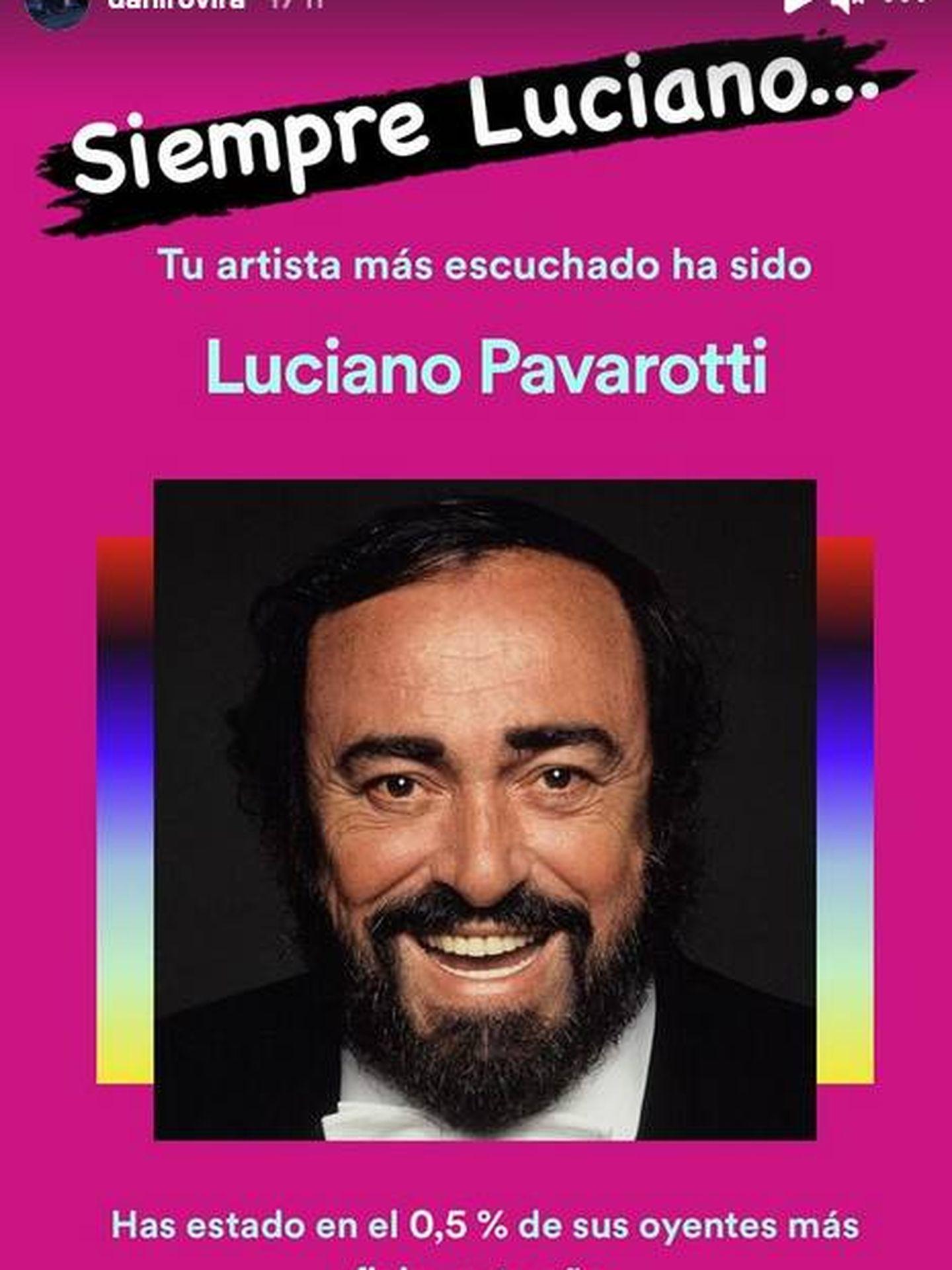 Siempre Luciano. (IG @danirovira)