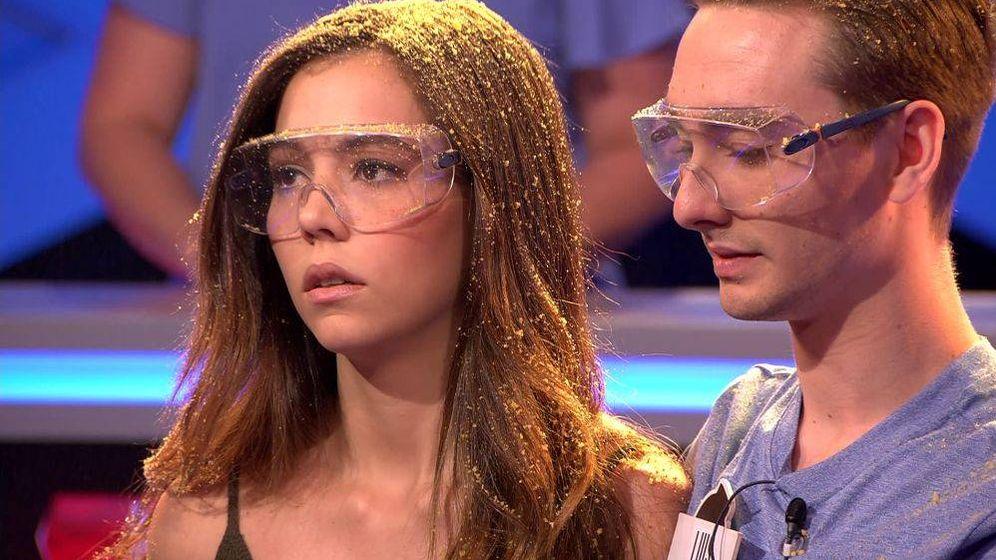 Foto: Paula, muy enfadada en '¡Boom!'. (Antena 3)