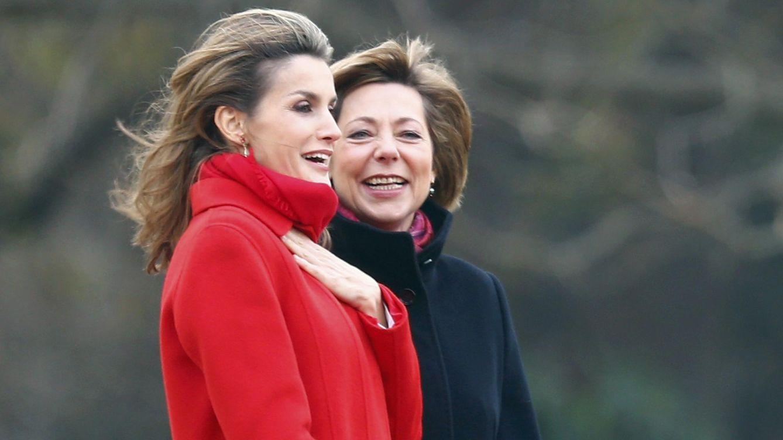 Foto: Daniela Schadt junto a la Reina Letizia en una imagen de archivo (Reuters)
