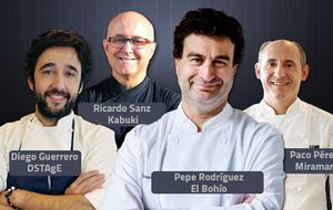 El estado de la alta cocina española, según cuatro cocineros con estrella