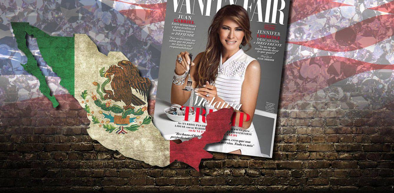 Foto: Melania Trump en un fotomontaje realizado en Vanitatis