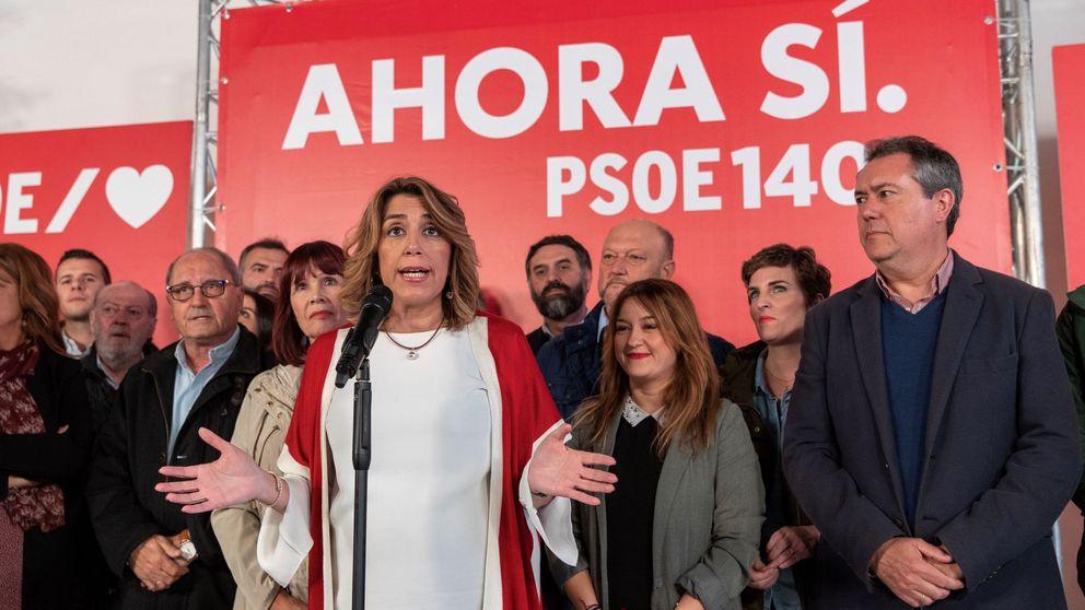El caso UGT carga más la mochila política de Susana Díaz tras los ERE