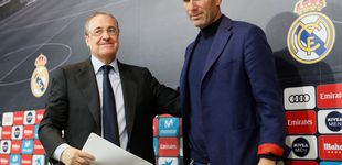Post de Zidane, al Real Madrid: Florentino Pérez convence 'in extremis' al francés