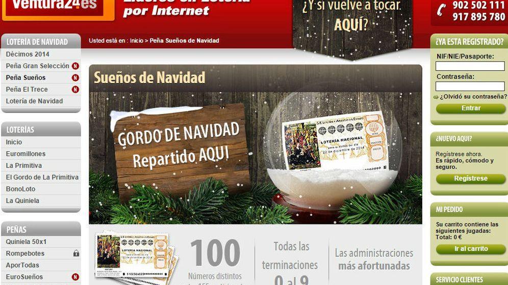 Foto: Compra Lotería de Navidad por Internet en páginas web seguras