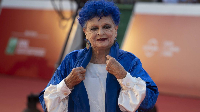 Lucía Bosé, en el Festival de Cine de Roma. (Getty)