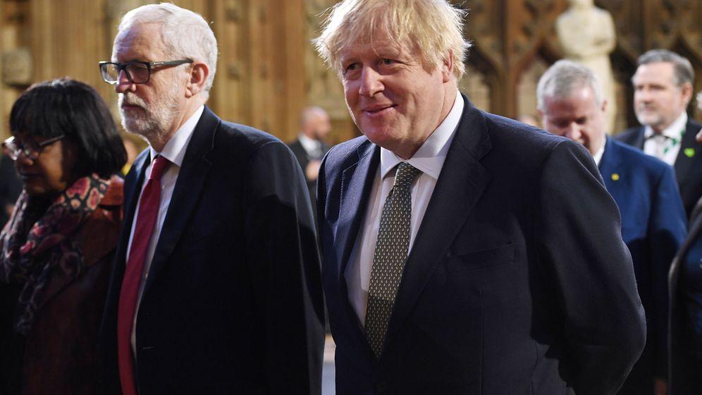 Foto: Boris Johnson y Jeremy Corbyn. (Reuters)
