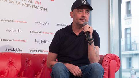 David Delfín celebra la Nochevieja con casi un mes de retraso por salud