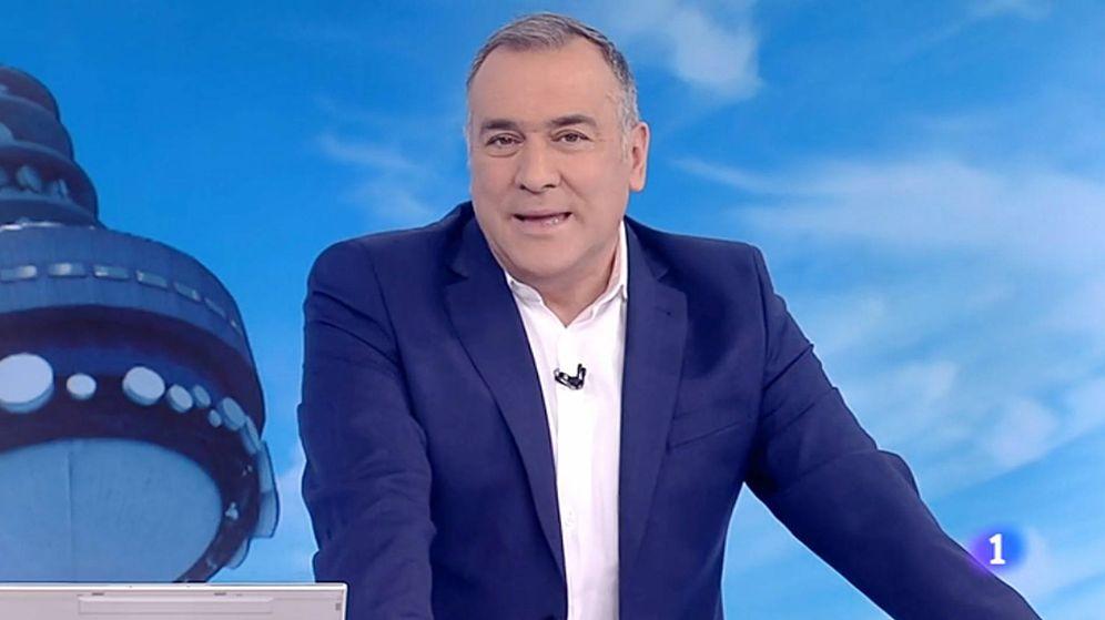 Foto: Xabier Fortes en 'Los desayunos de TVE'. (RTVE)