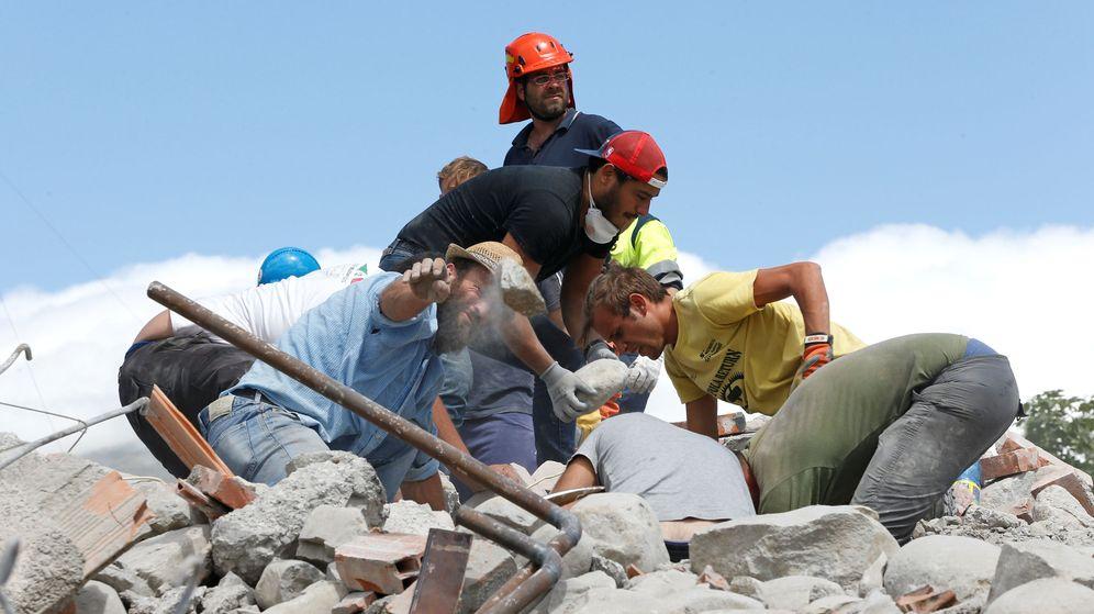 Foto: Una nueva réplica en Amatrice de 4,3 grados. (Reuters)