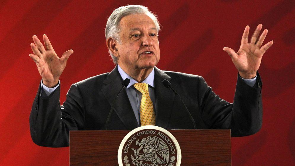 Foto: El presidente mexicano Andrés Manuel López Obrador, el 8 de marzo de 2019. (EFE)