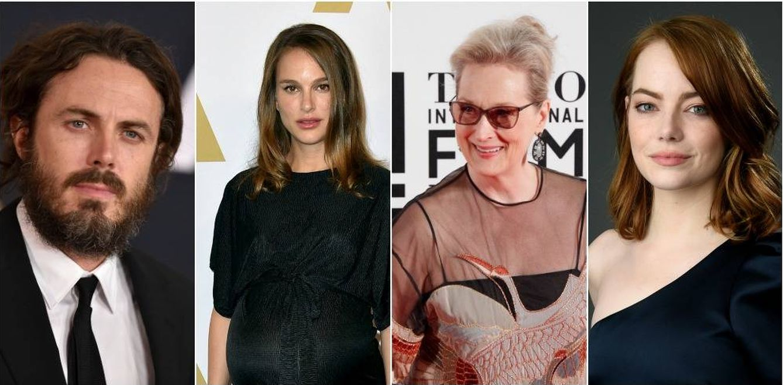 Foto:  Casey Affleck, Natalie Portman, Meryl Streep y Emma Stone (Gtres)
