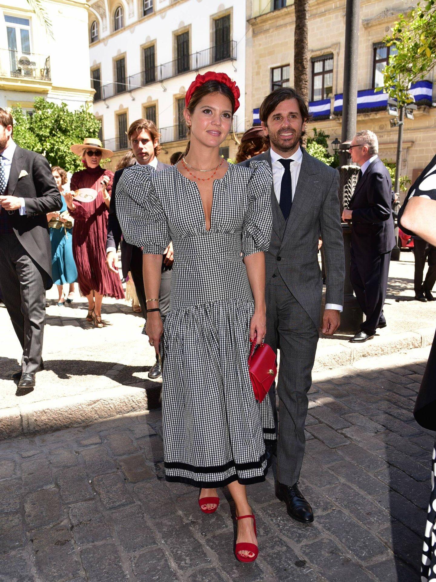 Isabelle Junot y Álvaro Falcó, marqués de Cubas. (Cordon Press)