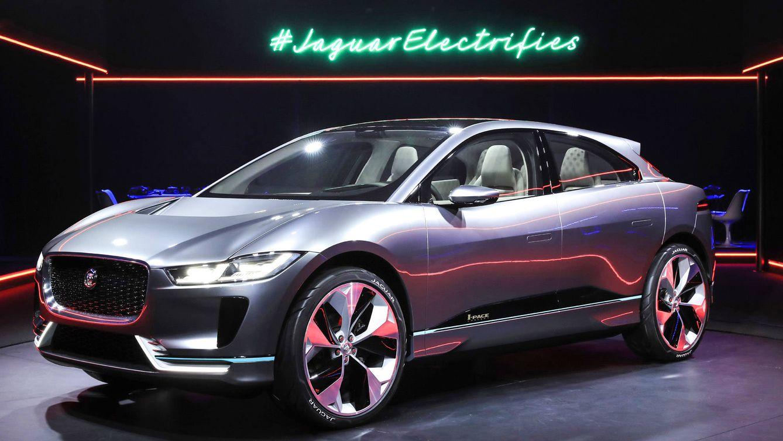 Foto: Imagen del Jaguar I-Pace, cuya autonomía alcanzará más de 500 km.