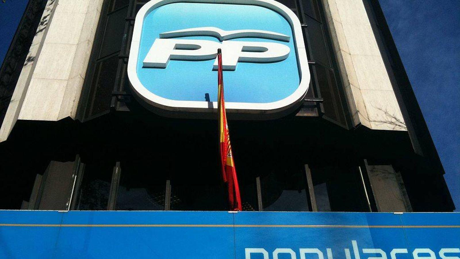 Foto: Fachada de la sede del PP en la calle Génova de Madrid. (EFE)